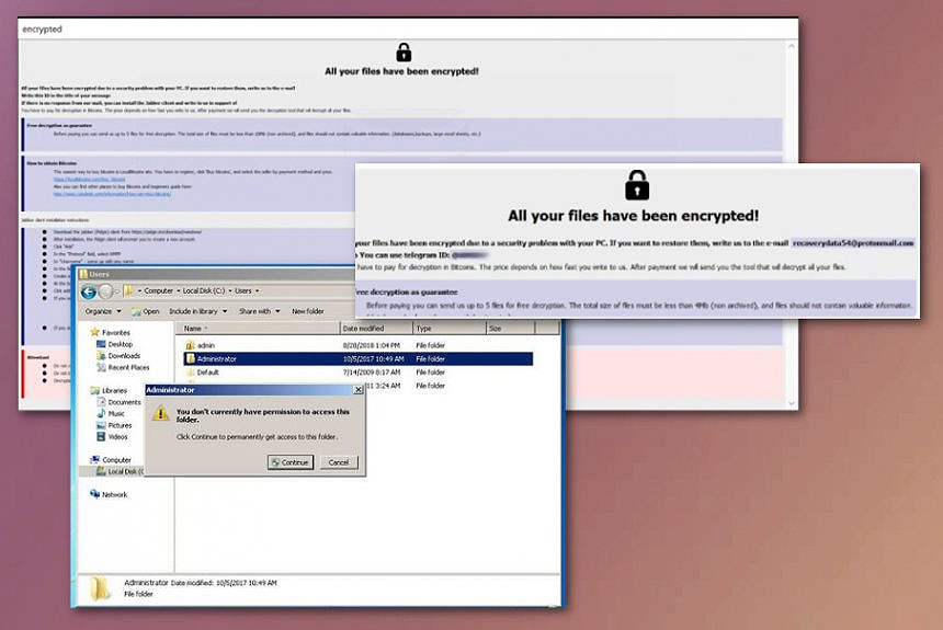 Cales Ransomware Crypto-Malware