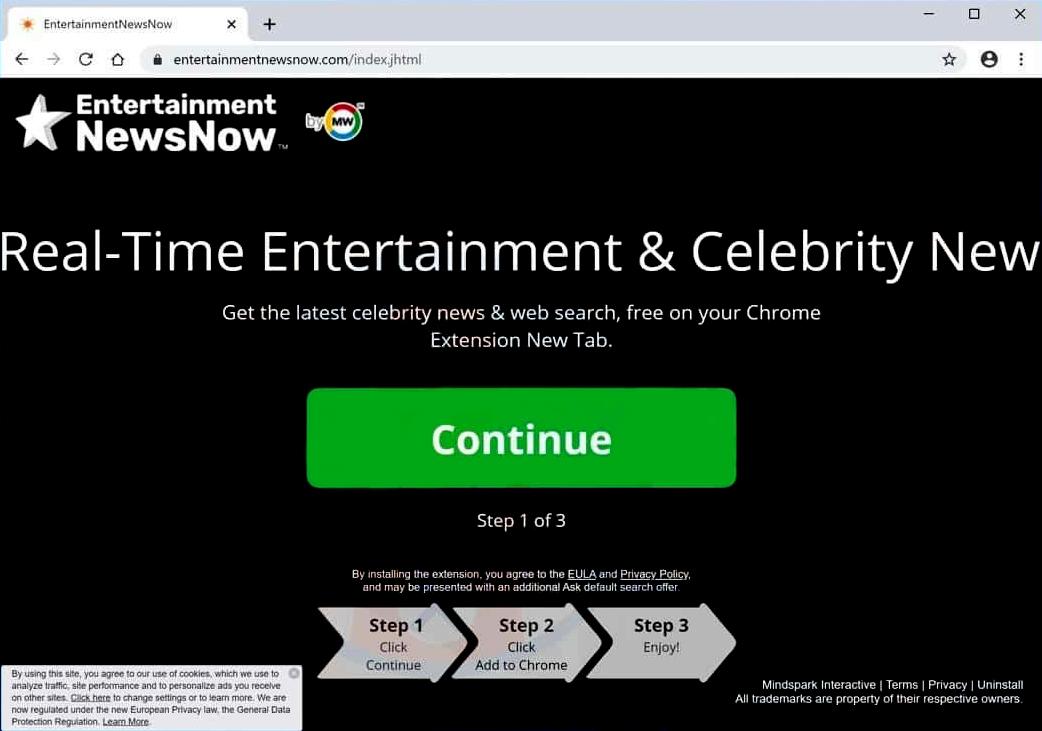 Entertainment News Now Toolbar